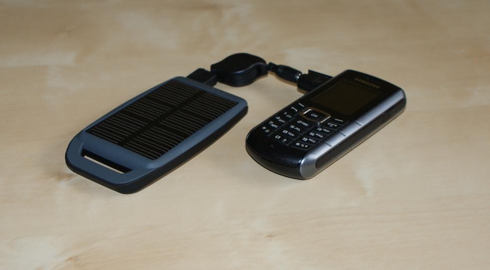 Solarne ładowarki telefonów komórkowych