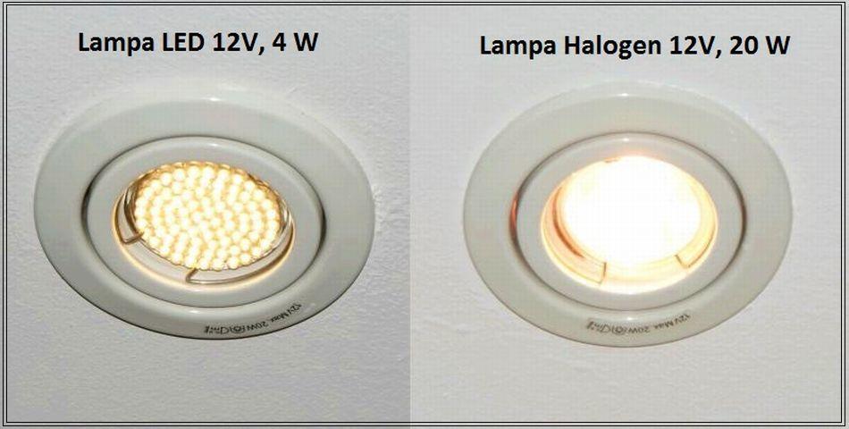 Oświetlenie energooszczędne.